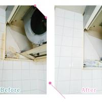 【清掃例】換気扇1(大分市のハウスクリーニングM&m)