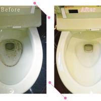 【清掃例】トイレの便器(大分市のお掃除・リフォームM&m)