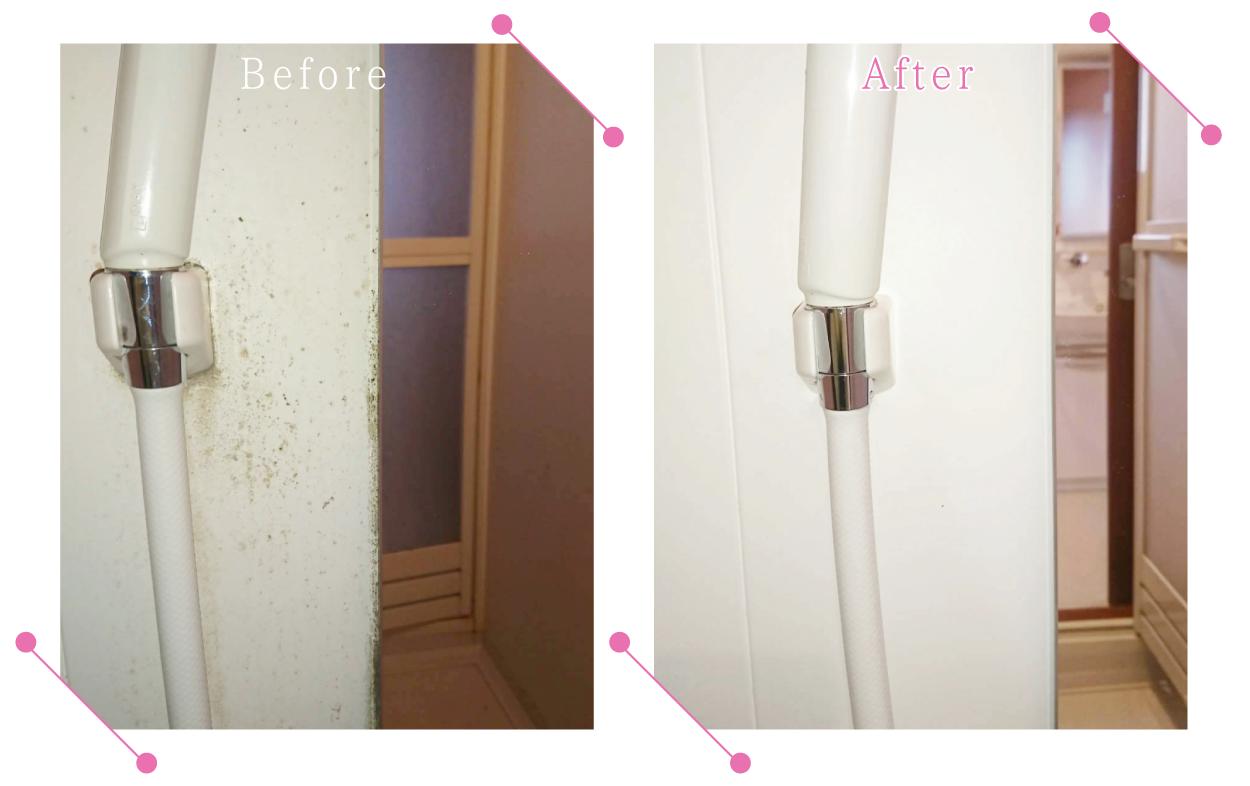 【清掃例】浴室 壁面