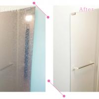 【清掃例】浴室 鏡(大分市のハウスクリーニングM&m)