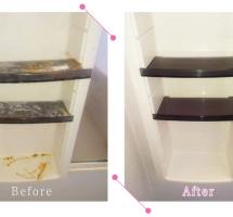【清掃例】浴室 棚(大分市のハウスクリーニングM&m)