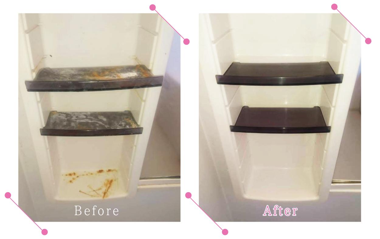 【清掃例】浴室 棚
