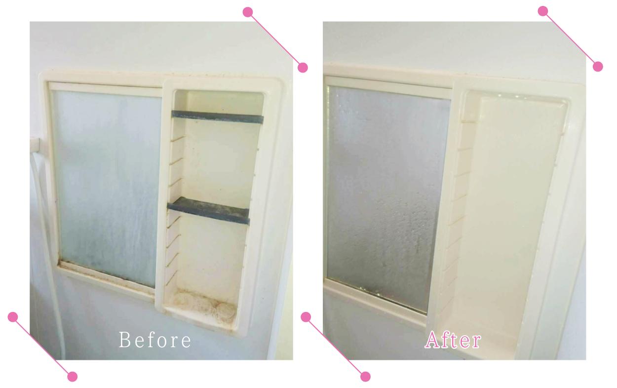 【清掃例】浴室 鏡台