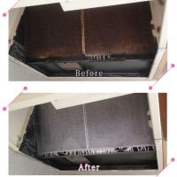 【清掃例】キッチン 換気扇フィルター(大分市のハウスクリーニングM&m)