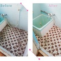 【清掃例】風呂場(大分市のハウスクリーニングM&m)