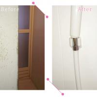 【清掃例】浴室 壁面(大分市のハウスクリーニングM&m)