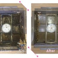 【清掃例】キッチン 換気扇2(大分市のハウスクリーニングM&m)