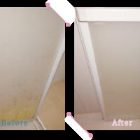 【清掃例】バスルーム扉(大分市のハウスクリーニングM&m)