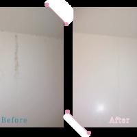 【清掃例】バスルーム壁面(大分市のハウスクリーニングM&m)