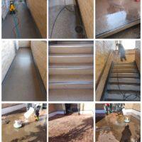 【清掃例】ビルの高圧洗浄(大分市のハウスクリーニングM&m)